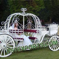 English Wedding Cinderella Carriage