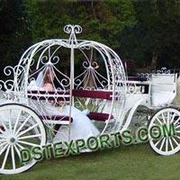 English Wedding Cinderella Carriage