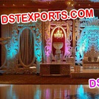 Grand Wedding Stage Backdrops