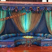 Indian Wedding Designer Mehandi Stage Set