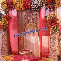 Indian Wedding Entrance Decorations