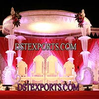 Wedding Crystal Mandap Set