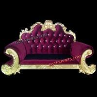 Purplish Wedding Royal Throne