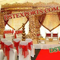 Royal Wooden Mandap Set