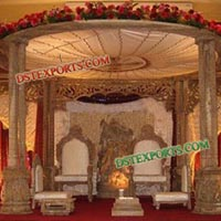 Traditional Wedding Wooden Mandaps