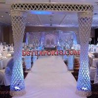 Wedding Cutting Crystal Gate