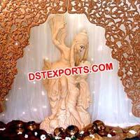 Wedding Decor Radha Krishan Statue