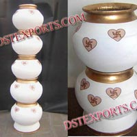 Wedding Designer Fiber Pots