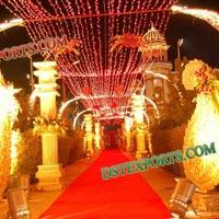 Wedding Entrance Carry Decorations