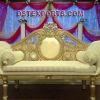 Wedding Golden Love Seater