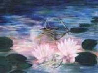 Lotus Painting- Code No.137