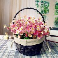 Wooden Flower Basket