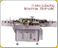 Flatmatic In Line Labeling Machine