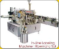 Rowmatic In Line Labeling Machine