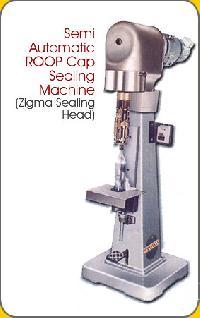 Semi Automatic Ropp Cap Sealing Machines