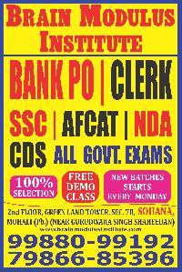 Bank Po Coaching In Mohali