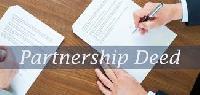 Partnership Deed Registration Services