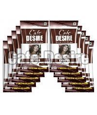 Cafe Desire Instant Coffee Premix, 150g (10 Sachets)