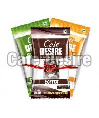 Cafedesire Instant Coffee Premix, Tea Premix, Lemon Premix - 30 x 15 gms (Combo)