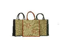Rope Handle Jute Tote Bags