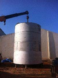 Storage Tank Erection Service