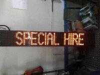 Automotive Display Sign Board Repairing