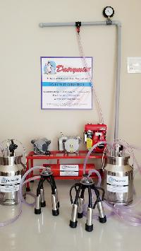 Milking Machine (motor With Engine Double Can)