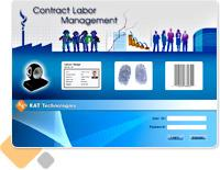 contract labour management system