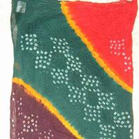 Cotton Bandhni Dupatta - Manufacturer, Exporters and Wholesale Suppliers,  Gujarat - Liya Handicraft