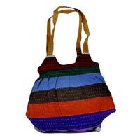 Hippie Boho Multi Color Indian Handcrafted Shoulder Sling Krishna Mart Bag