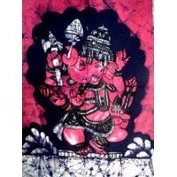Batik Painting Wall Hanging