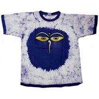 Ethnic Hippie Unisex Tees Short Sleeves Cotton T Shirt