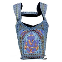 Traditional Elephant God Lord Ganesha Embroidery Indian Rajasthani Art Deco Ladies Fashion Bag