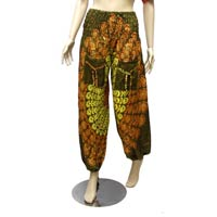 Women Boho Baggy Smock Waist Printed Yoga Hippy Pants
