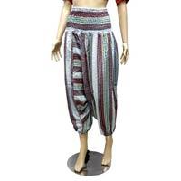 Women Boho Baggy Smock Waist Printed Yoga Hippy Pants  from India