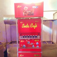 8 Valve Soda Fountain Machine