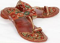hand embroidered footwear