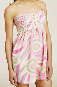 Ladies Dress (flower Print)
