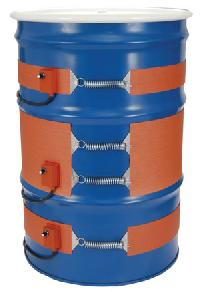 Silicone Rubber Drum Heaters