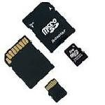 S D Memory Cards
