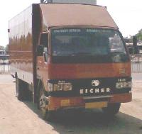 Parcel Van Body Front View