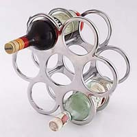 Metal Wine Bottle Holder