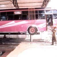Hydraulic Washing Lift for Heavy Vehicles (PCP 160)