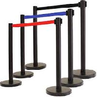 Retractable Crowd Control Barriers