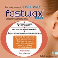 Fastwax Ear Drops