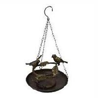 Iron Hanging Bird Baths