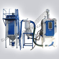 Dry & Wet Air Blasting Machine