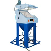 Shot Blasting Machine For Surgical Instruments