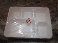 Five Compartment Tray - Manufacturer, Exporters and Wholesale Suppliers,  Delhi - M/s Unify Disposable