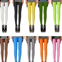 Ladies Single Color Leggings
